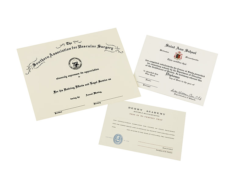 Diploma Examples